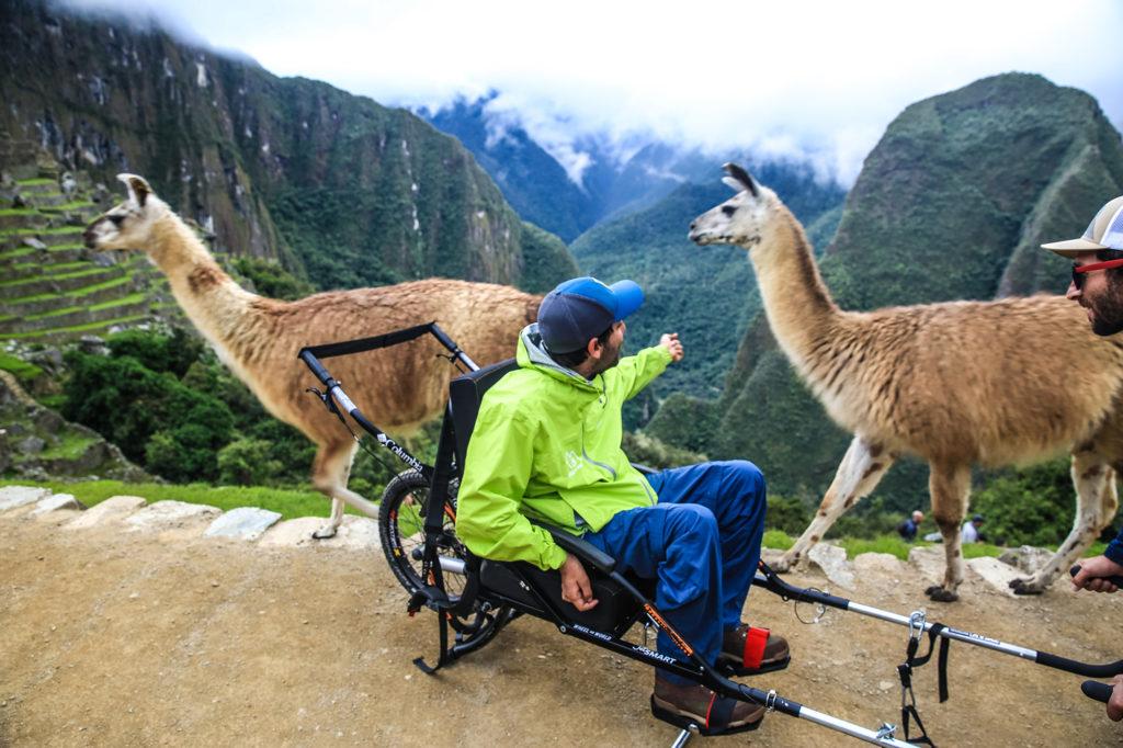 wheelchair_Machu Picchu