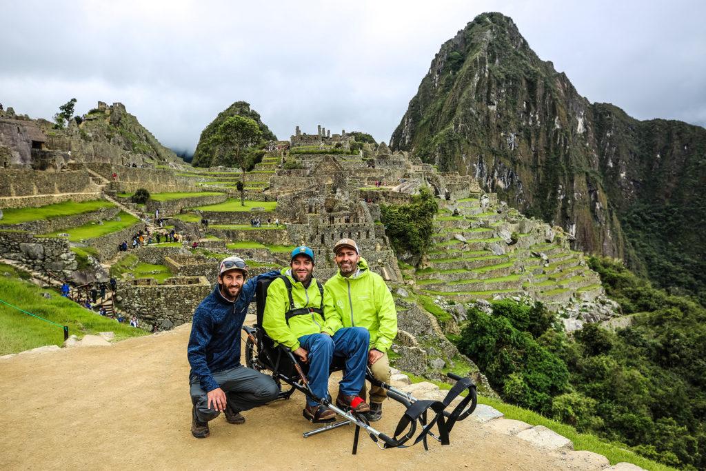 wheelchair-accessible tour of Machu Pichu
