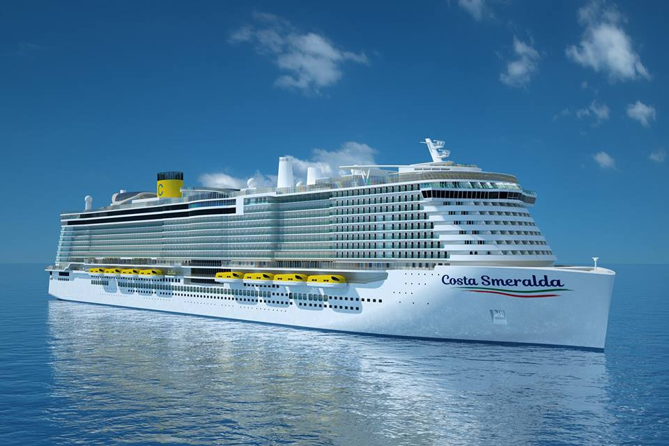 Cruise October 2020.Costa Firenze Will Debut In October 2020 Travelandy News